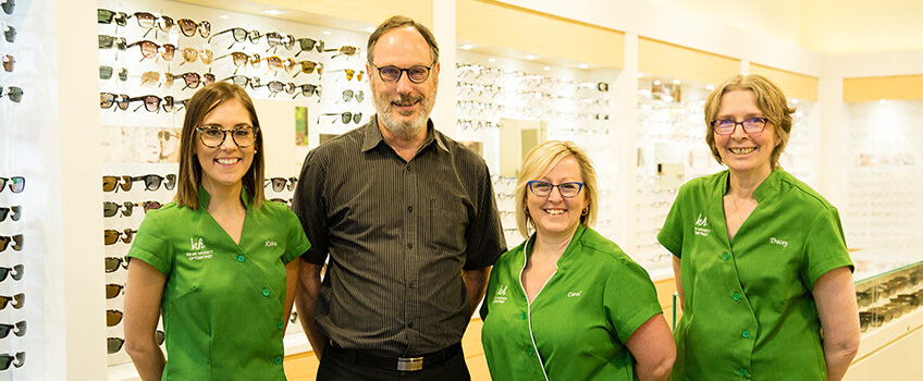Our Team Kevin Hackett Optometrist