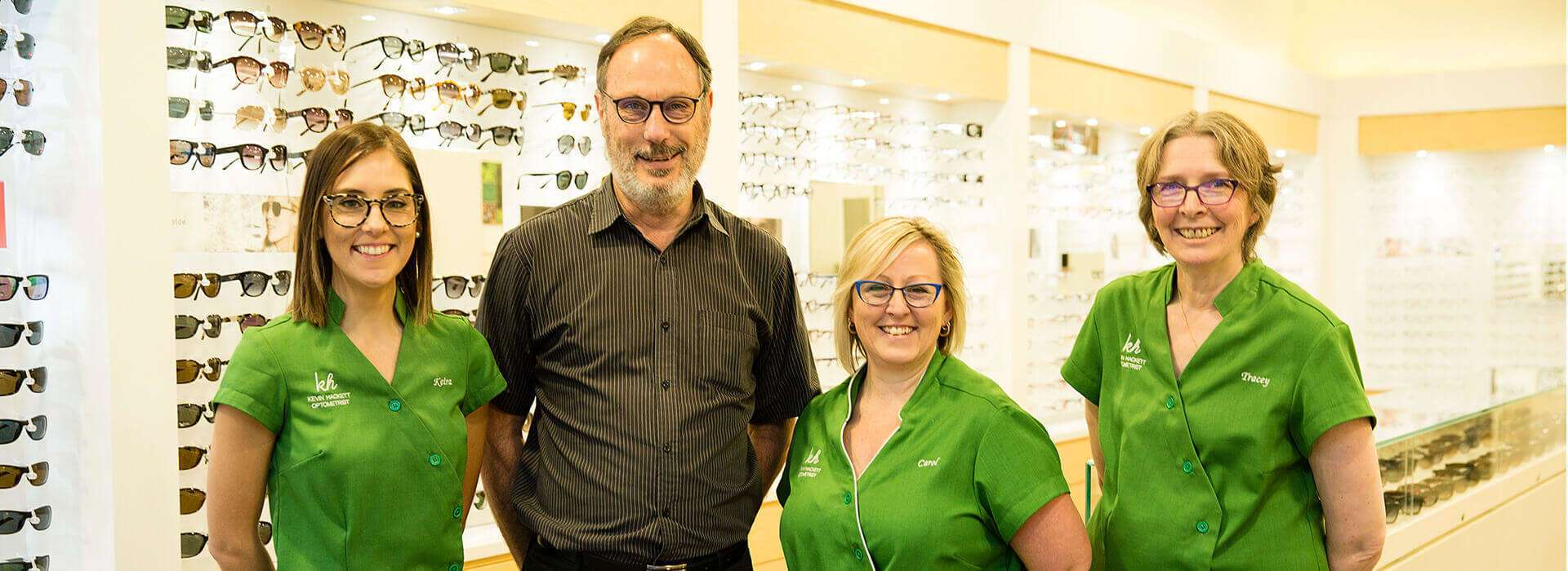 Kevin Hackett Optometrist